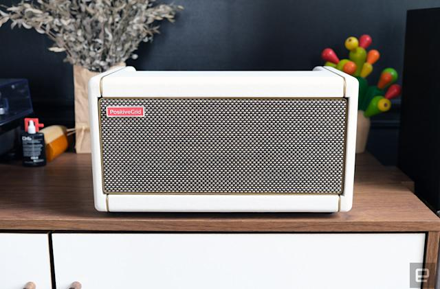 Positive Grid Spark Pearl review: A high-tech guitar amp that's easy on the eyes