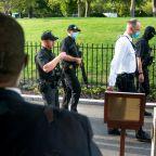 Shooting near White House that interrupted Trump briefing is under Secret Service review; no gun found on suspect