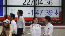 Asian markets down as trade war heats up