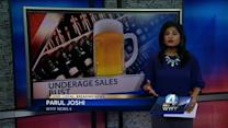 Greenville County businesses caught in underage drinking sales bust