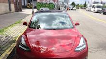 Thousands of Tesla Model 3 cars are sitting in giant parking lots in California — here's why (TSLA)