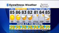 Kathy's Thursday Evening Forecast At 11 PM: August 7, 2014