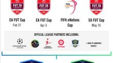 Electronic Arts and FIFA Announce the Return of the esport for the World's Game – The EA SPORTS FIFA 20 Global Series on The Road to the FIFA eWorld Cup
