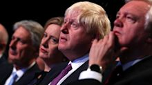 Boris Johnson 'had to be told to stand up and clap for Theresa May'