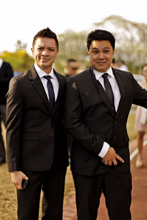 Paolo Valenciano and Samantha Godinez weds