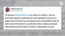 Así reaccionaron las personalidades por la muerte del actor mexicano Héctor Suárez