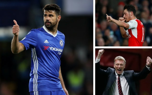Will the Chelsea juggernaut roll on? Is Mesut Ozil back? And will Sunderland score a goal? - Reuters/Rex Features