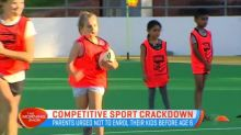 Competitive sport crackdown