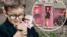 Kmart's inclusive doll win: 'It has a cane like me!'