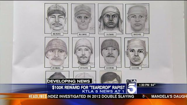Reward Offered in Search for Teardrop Rapist