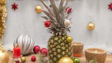 L'ananas de Noël fait de l'ombre au sapin traditionnel cette année