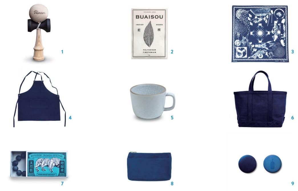 BLUE BOTTLE藍瓶咖啡 x 藍染師 周邊商品