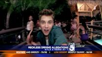Justin Bieber Investigated for Reckless Driving