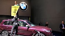 Anti-Car Groups Call for a Ban on SUVs, Protest at Frankfurt Auto Show