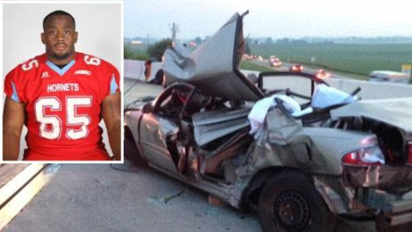 Delaware State University football player injured in multi-vehicle crash