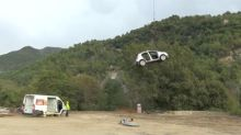 Alpine airlift sends in supplies to isolated French villages