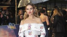 Lily James won't star in Downton Abbey movie