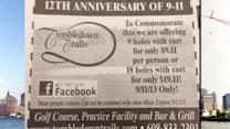 Wisconsin golf course offers 9/11 special