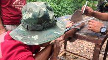 FOTOS | Armas caseras en Myanmar para cuando los militares llamen a la puerta