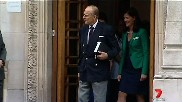 Prince Philip out of hospital
