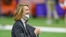 Trevor Lawrence has a good reason for skipping medical exams in Indy: He's getting married