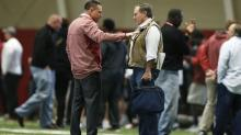 Bill Belichick among two head coaches, eight GMs at Alabama pro day