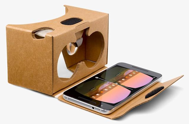 Google starts selling Cardboard VR viewers through its store