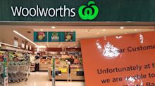 Woolworths shopper slams ironic sign over plastic recycling