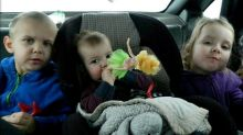 Mum shares heartbreaking last picture of her children in car before two died in a collision