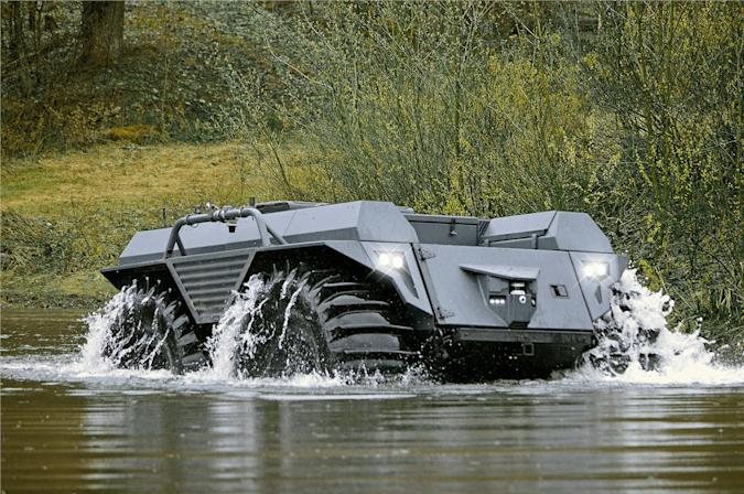 The autonomous Mission Master XT can pack over a ton of supplies into war zones