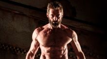 Hugh Jackman celebrates Logan's third birthday with series of shirtless snaps
