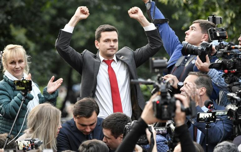 Ilya Yashin is one of a group of new Russian opposition politicians