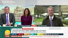 Nigel Farage criticises 'woke celebrities' angry at Tory election victory