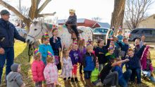 Boy battling cancer gets magical send-off to treatment on a 'unicorn'