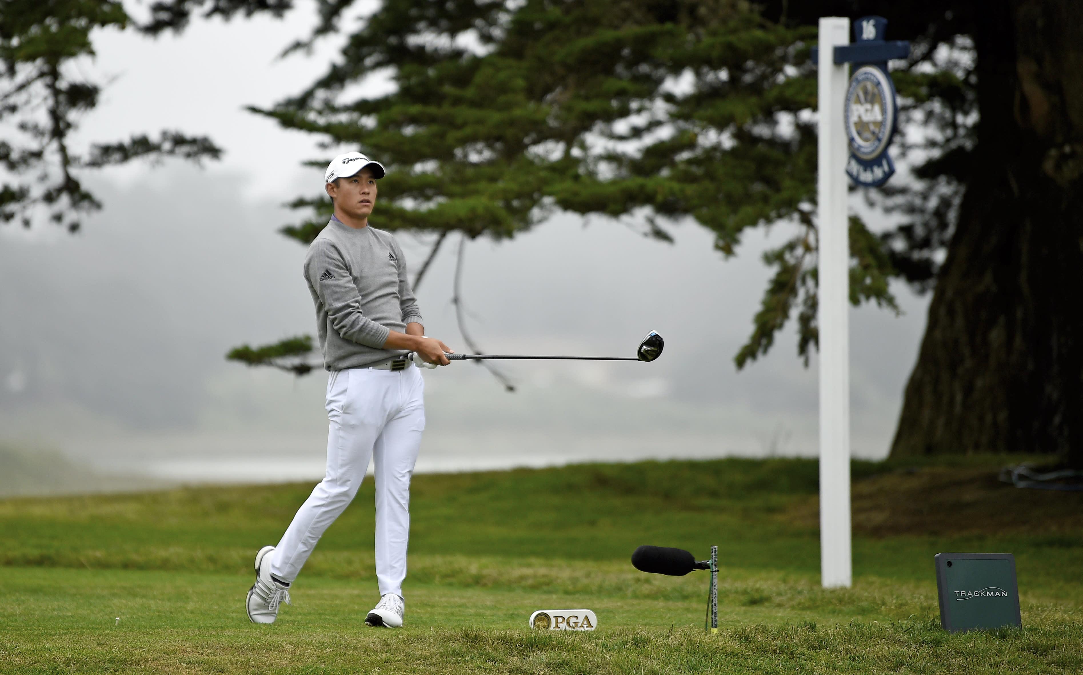 Collin Morikawa on epic shot that led to PGA Championship win: 'Screw it … let's make something happen'