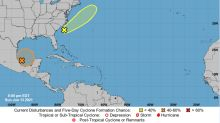 Forecasters track disturbance in the Gulf of Mexico that could form into depression