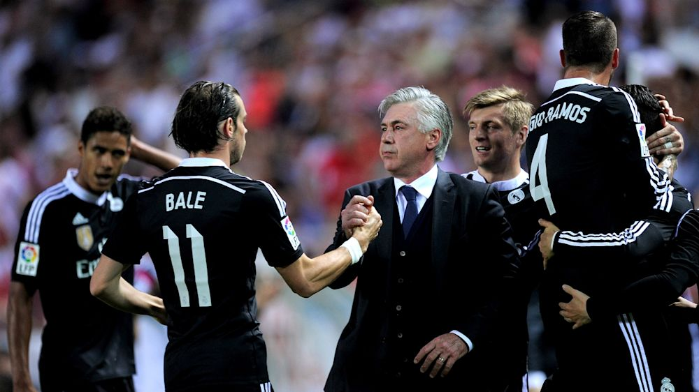 """Ancelotti: """"La relación con Florentino cambió tras sustituir a Bale"""""""