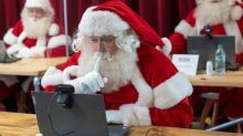 'We all need magic in our lives': how Santa's grottos moved online to beat the pandemic