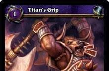 Ghostcrawler: Okay with Titan's Grip not being an optional talent