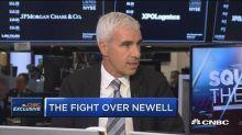 Martin Franklin: Execution has failed at Newell