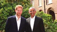Gb, Obama ricevuto a Kensington Palace dal principe Harry