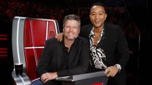Top 13 results: Has John Legend replaced Blake Shelton as the most popular coach on 'The Voice'?