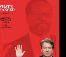 Clarence Thomas Looms Over Brett Kavanaugh In Ominous Time Magazine Cover