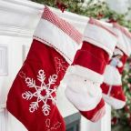 Trick For Hanging Christmas Decorations Without Damaging Your Walls