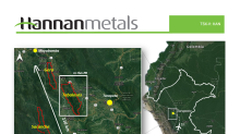Hannan Provides Update On The Tabalosos Copper Silver Project, Peru