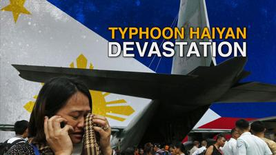 Typhoon Survivor: 'There Is No Hope'