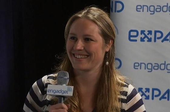 Indiegogo's Danae Ringelmann backstage at Expand (video)