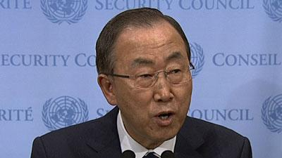 U.N. Secretary General: Sarin Gas Used in Syria