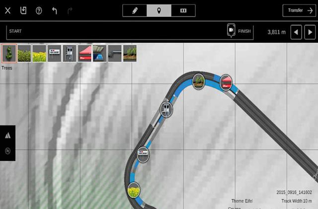 Create 'Gran Turismo 6' race tracks on your tablet