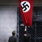 California water polo team gives Hitler salute and sings Nazi anthem in video